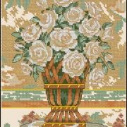 Dimensions 65006 White Rose Still Life